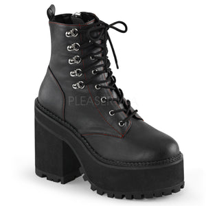 Assault100 - Chunky Heel Ankle Boot