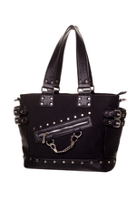 Load image into Gallery viewer, Gothic handcuff handbag