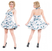 Load image into Gallery viewer, Blue Bird Mini dress