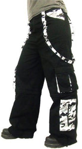 Urban cammo punk goth metal Pants - men's / unisex