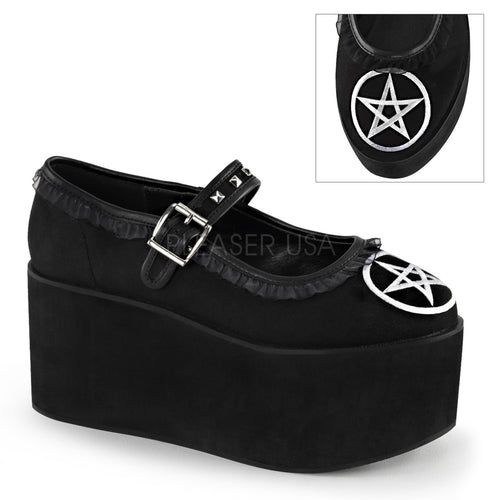 Click02-2 - Pentagram Mary Jane platform shoe