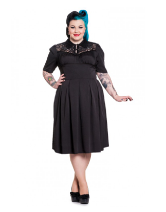 Connie elegant gothic lace dress - PLUS SIZE – Quirky Stylin
