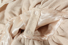 Load image into Gallery viewer, Classic elegance cream gothic lolita faux fur collar steampunk cape cloak