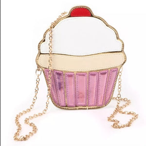 Cup Cake cutie mini handbag - ULTRA CLEARANCE