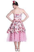 Load image into Gallery viewer, Pink Lady Floral party dress
