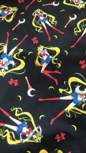 Sailor Moon Dark Collar Dress - LIMITED EDITION