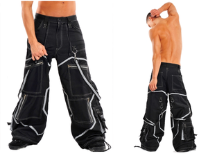 Cyber rave phat wide leg rave Pants - Men's/Unisex