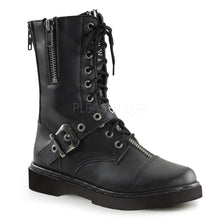 Load image into Gallery viewer, Defiant206 - Zipper strap combat boots