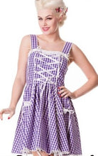 Load image into Gallery viewer, Gingham Sweet Lolita Retro Dress