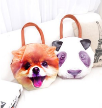 Load image into Gallery viewer, Animal Faces kawaii pop art bag - ULTRA CLEARANCE