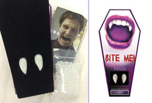 Load image into Gallery viewer, Vampire Fangs - cosmetic vampire prosthetic fangs