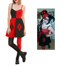 Load image into Gallery viewer, Harley Quinn DC mini dress - Limited Edition