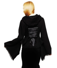 Load image into Gallery viewer, Cyber lolita fleece kimono sleeve hoodie