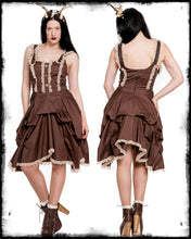 Load image into Gallery viewer, Nia Steampunk Bustle Dress