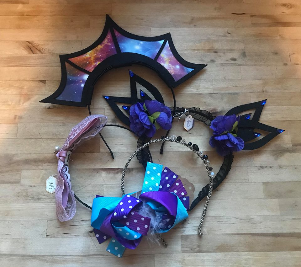 lucky mystery bag gothic galaxy theme hair accessories sale