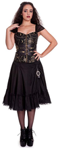 Load image into Gallery viewer, Pentagram occult steampunk gothic top