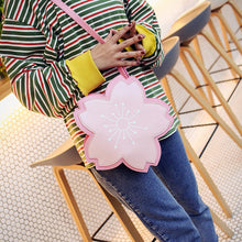 Load image into Gallery viewer, Sweet kawaii Sakura cherry blossom Handbag