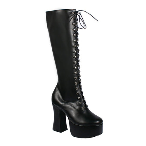 Slush214 - Gothic high heel boots