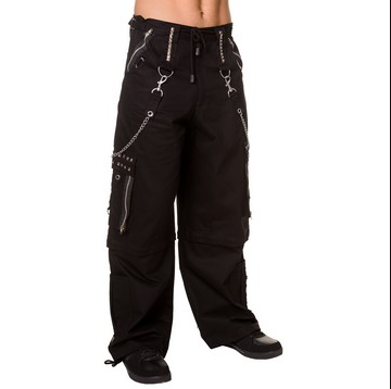Studded gothic cyber punk Pants trousers - men's / unisex - S to 4XL