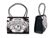 Load image into Gallery viewer, Ouija chain-link strap handbag