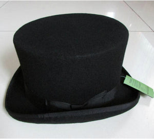 Classic Top Hat - gothic steampunk formal standard victorian Top Hat