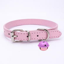 Load image into Gallery viewer, Pastel Goth Kawaii catbell collar choker
