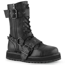 Load image into Gallery viewer, Valor220 - Small platform strap buckle mid-calf boot - PREORDER