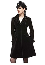 Load image into Gallery viewer, Velvet dandy gothic coat - PLUS SIZE