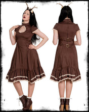 Load image into Gallery viewer, Steampunk Vena Keyhole Dress