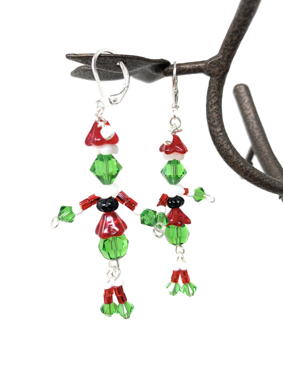Grinch Earrings
