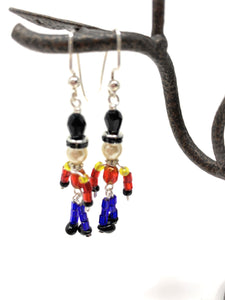 Nutcracker Soldier Earrings