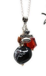 Atlanta Falcons Chain Necklace with Charms