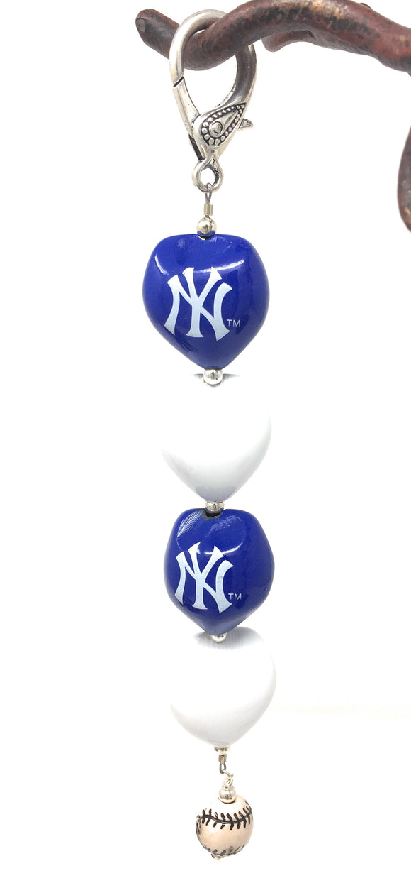 NY Yankees Key Chain