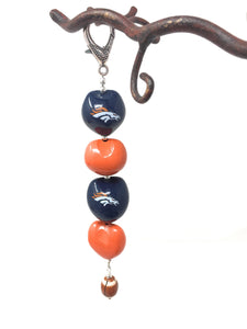 Denver Bronco's Key Chain