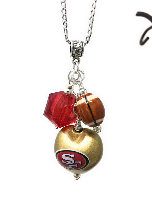 SF 49'ers Necklace