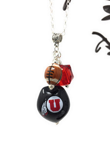 U of U Black Necklace