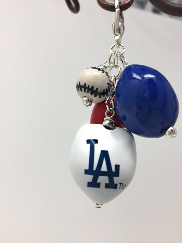 LA Dodgers Chain Necklace   stainless steel