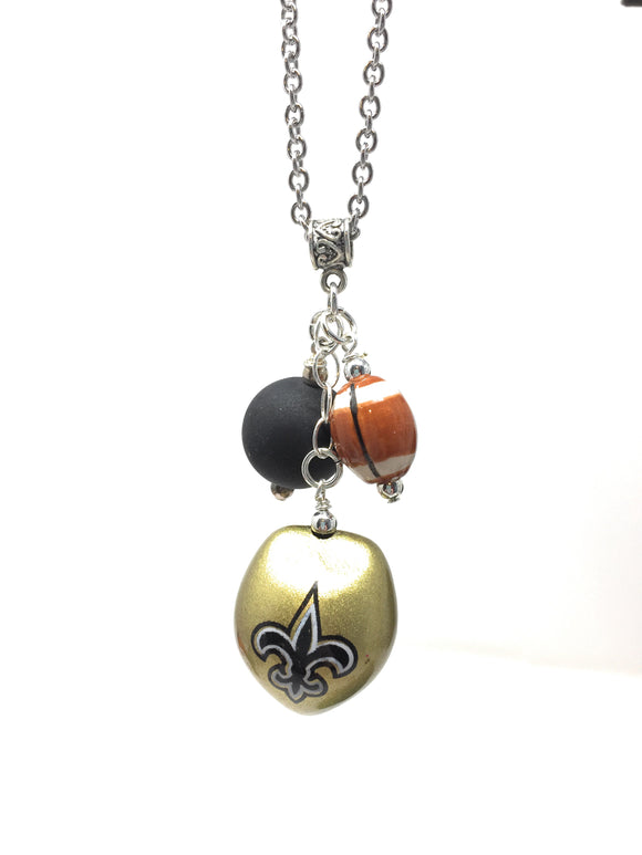 Saints Chain Necklace   stainless steel