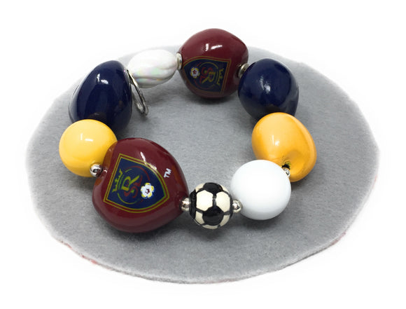 Real Salt Lake Soccer Bracelet