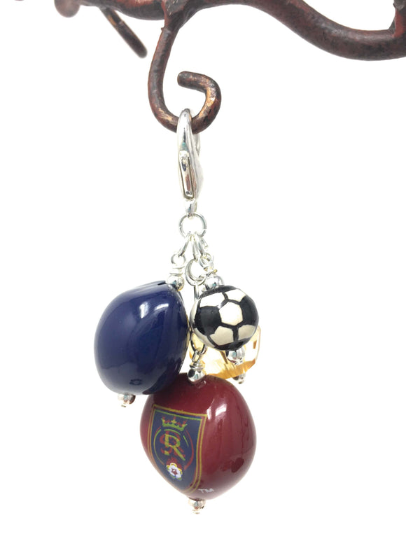 Real Salt Lake Soccer Charms
