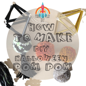 Pom Poms and Tassels Kit (Companion to Himmeli Mobile)
