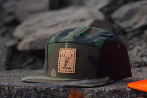 Dead Stags 5 Panel Patch Cap