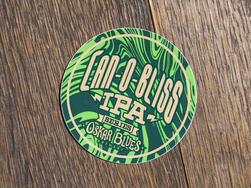 Can-O-Bliss Sticker