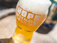 Hops Dealer Glass