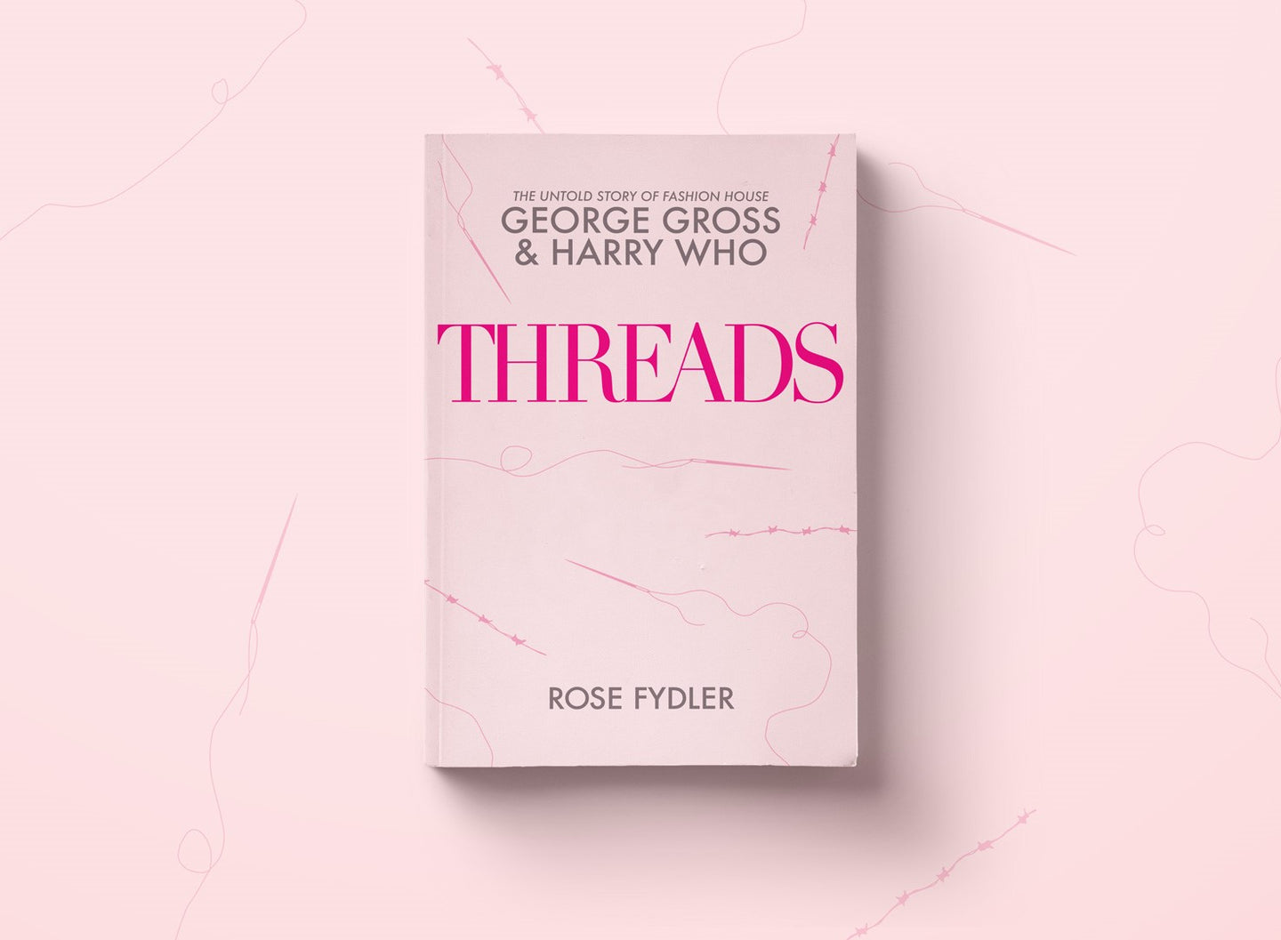 threads - George Gross Book - Harry Who Book