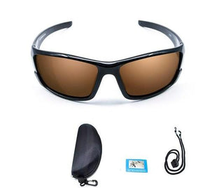 Polarized Fishing Sunglasses - Brown W/ Box - Men