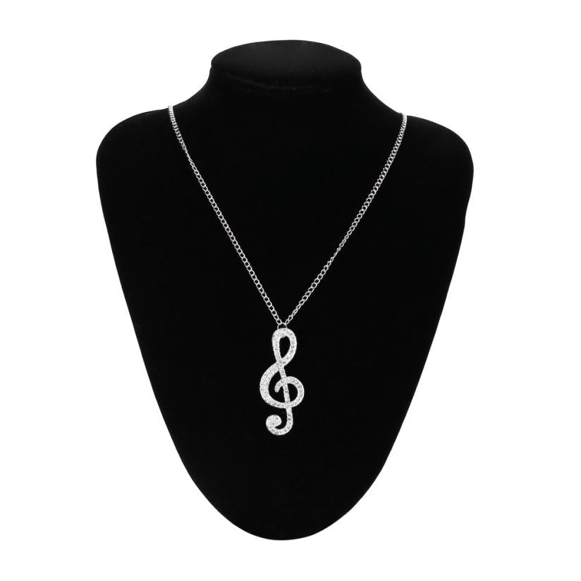 G-Clef Necklace - Jewelry