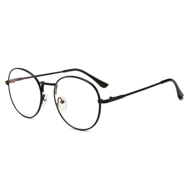 Retro Computer Glasses (Reduces Electronic Eye Strain) - Black - Unisex