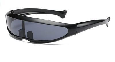 Skeyeware Shades Men Black Black Cyclops Fast Sunglasses