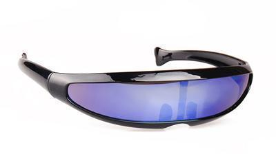 Skeyeware Shades Men Black F Purple Cyclops Fast Sunglasses